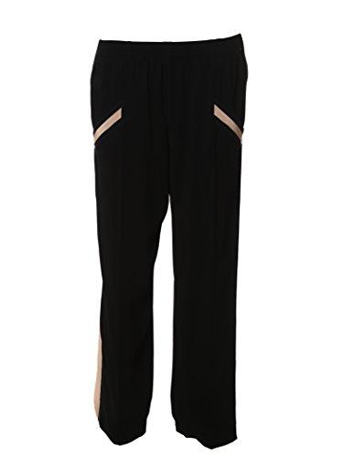 agnona-womens-uf2037911oy43-black-pink-viscose-pants