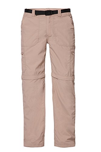 - Trailside Supply Co. Big Boys' Quick-Dry Convertible Nylon Trail Pants with Zip-Off Short Youth Shorts, Nomad Brown, 20