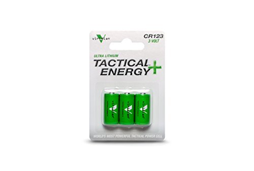 Used, Viridian CR123A 3 Volt Lithium Battery, 3-Pack for sale  Delivered anywhere in USA