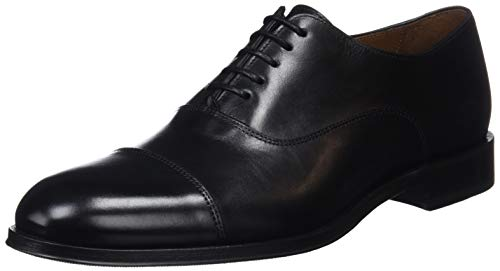 Oxford Negro Ebony Zapatos para Hombre Cordones Negro Lottusse de Negro L6965 Ebony wfSqnIz