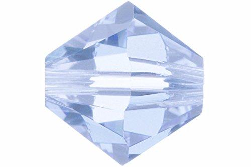 Swarovski Crystal Bicones 5301/5328 4mm Alexandrite - 50 Beads