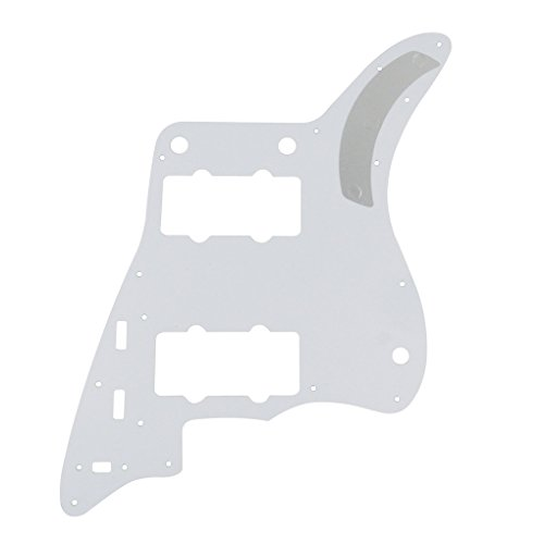 IKN Red Tortoise 4Ply Guitar Pickguard Scratch Plate for American Fender Style Vintage JM Guitar, with Screws by IKN (Image #2)