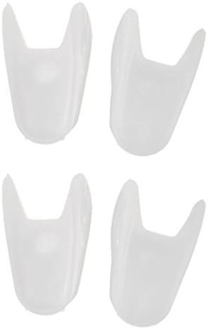 2 Paar Silikon Gel Zehenspreitzer Bunion Protector Schmerzlinderung S