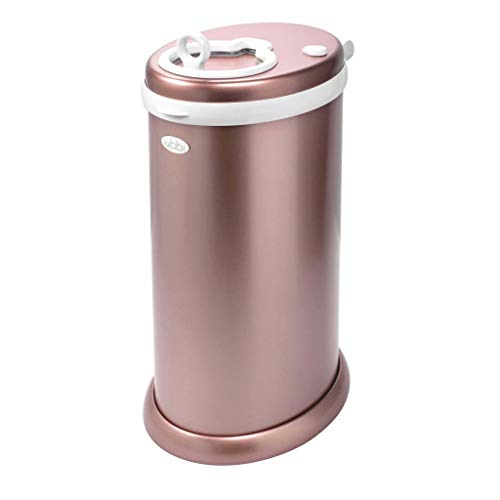 Ubbi Steel Pail Rose Gold Discontinued by Manufacturer