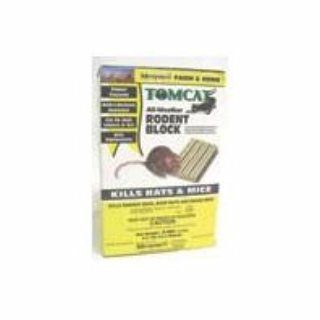 (Tomcat 048745324654 Weather Rodent Block Pest Control, 1 lb)