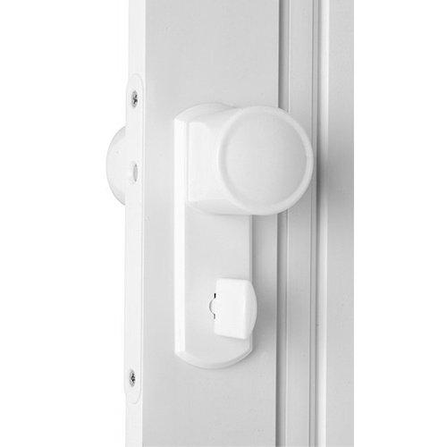 Dynasty Internal PVC White Gloss Concertina Folding Lockable Door ...