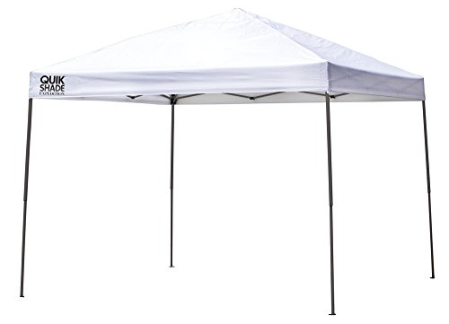 Quik Shade Expedition 10 x 10 ft. Straight Leg Canopy, White (Quik Shade 10x10 Expedition 100 Straight Leg Canopy)