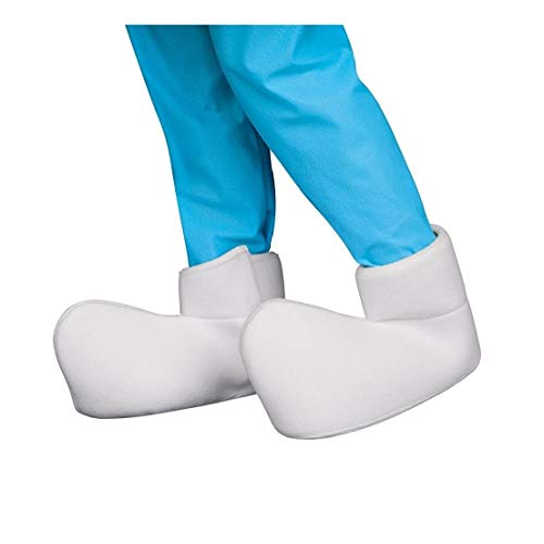 Ovedcray Costume series Smurfs: The Lost Village Adult Shoe Covers]()
