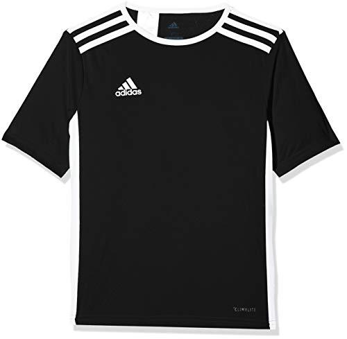 adidas Mens Soccer Entrada 18 Jersey, Black/White, XX-Large