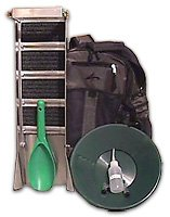 Backpack Prospecting Kit - 9 pieces - Gold Mining Equipment