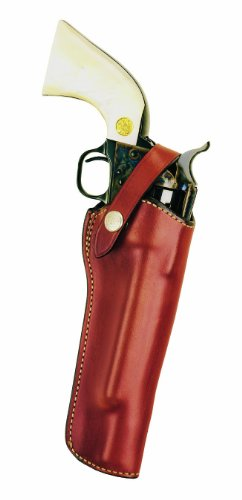 Bianchi Tan 1L Lawman Holster Fits Single Act 6 1/2 (Right Hand, Small) (Best Holster For Ruger Single Six)