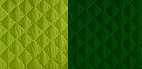 Lucena Cantos - Cubre Sofá Reversible, (Verde/V. Botella, 1 Plaza)