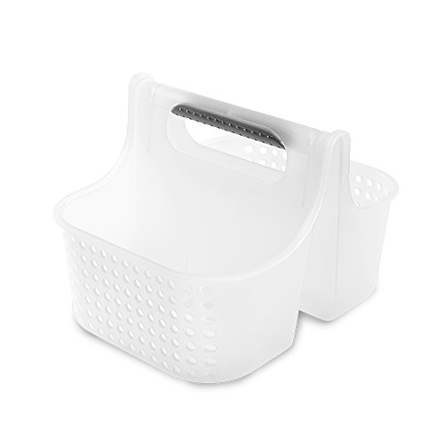 madesmart Portable baby tote caddy organizer,Small, Frosted, -