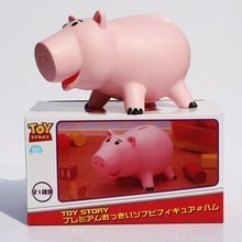 """8""""20cm Toy Story Hamm Piggy Bank Pink Pig Coin Box PVC Model Toys For Children"""