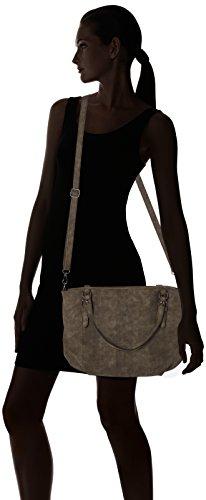 s.Oliver (Bags) - 39.710.94.5824, Bolsos maletín Mujer, Braun (Sepia), 5.5x28x41 cm (B x H T)