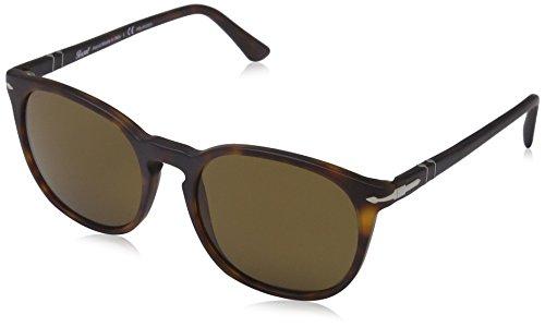 Persol Men's 0PO3007S Matte Havana/Polar Brown - Brown Sunglasses Persol
