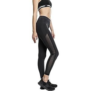 Urban Classics Ladies Tech Mesh Stripe Leggings Femme