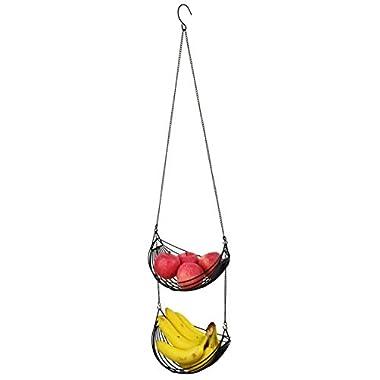Surpahs 2-Tier Hanging Fruit Basket, Adjustable Length
