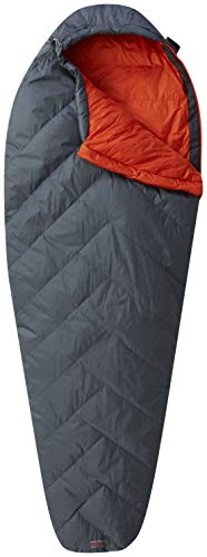 (Mountain Hardwear Ratio 32F/0C Sleeping Bag, Graphite, Regular x Right Zip)