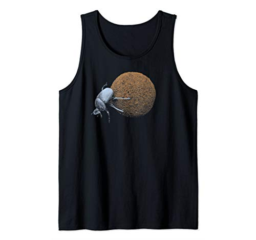 ( Dung Beetle Rolling Dung Ball  Tank Top )
