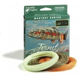 Scientific Anglers Mastery Trout Dry Tip Fly Line Mist Green, WF-6-F