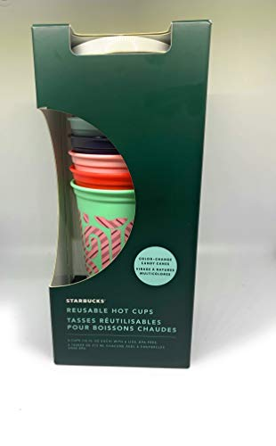 Starbucks Reusable Hot Cups Holiday 2020 Color Changing Cups