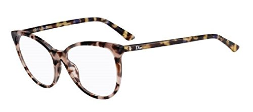 Dior Montaigne 25 Pink Havana Blue 02A0 - Dior Sunglasses Prescription