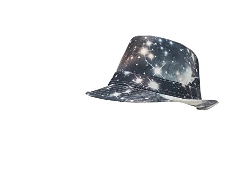 cfe832029 Chachlili 6 Multiple Style Full Color Prints Fedora Hats Styles ...