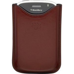 RIM BlackBerry Leather Pocket. No clip. Red. Blackberry 9000 Bold - HDW-19608-003