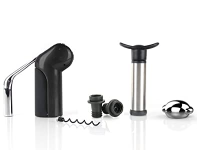 Rabbit 6-Piece Vertical Lever Corkscrew Wine Tool Kit – Awesome product that most likely will turn my wife into