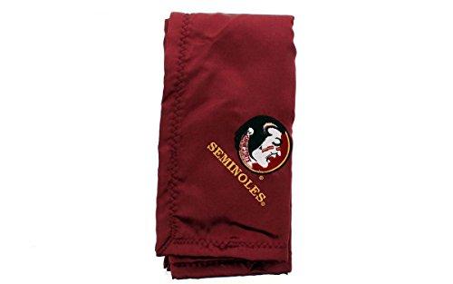 Florida State Seminoles Soft Blanket (Comfy Feet FSUBB - Florida State Seminoles Baby - Blanket - Officially Licensed - Happy Feet)