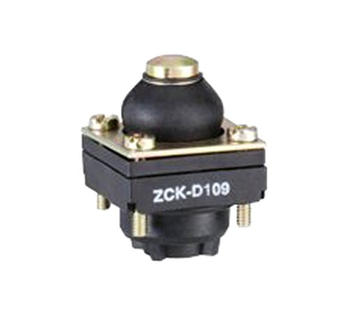 - Telemecanique ZCKD109 Metal Limit Switch Head For Zckm And Zckl Series Body, Plunger-Type With Rubber Boot, Top-Position, Spring Return
