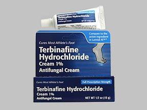 Terbinafine Hydrochloride 1%, Cream, 0.5 (Hydrochloride Cream)