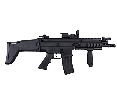Airsoft-Pack Duo Fusil et Pistolet à Billes FN Scar électrique et FNS-9 à Ressort (0.5 Joule) + 500 Billes 2