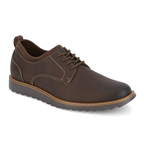 (Dockers 9040728 Men's Elon Smart Series Oxford Shoe, Red Brown - 7 M)