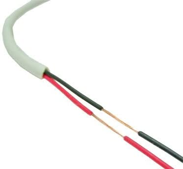 Security Cable Burglar Alarm 22//2 500FT Stranded White Speaker Wire