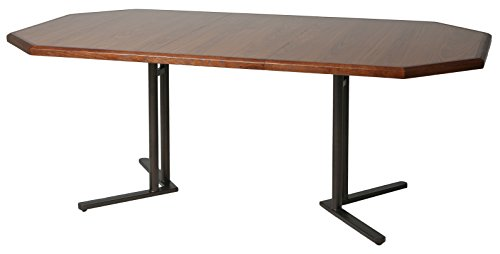 Impacterra QLWM5402547537 Waimea Extendable Dining Table, Octagon (Table Dining Round Extendable 42)