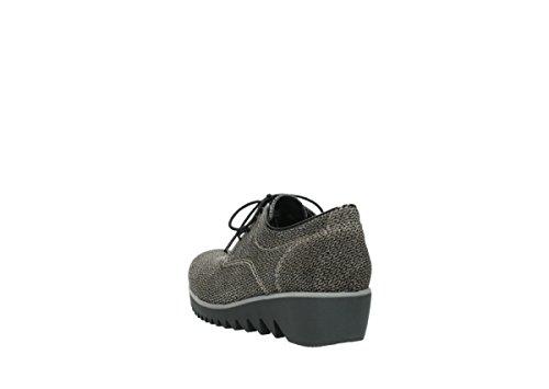 Sandalo Comfort Luccicante Scarpe Gobly 40150 Pelle Scamosciata Taupe