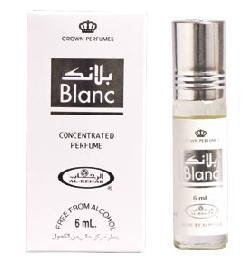 Blanc - 6ml (.2 Oz) Perfume Oil By Al-rehab (Crown Perfumes) (1 X 6ml (1 Pack))