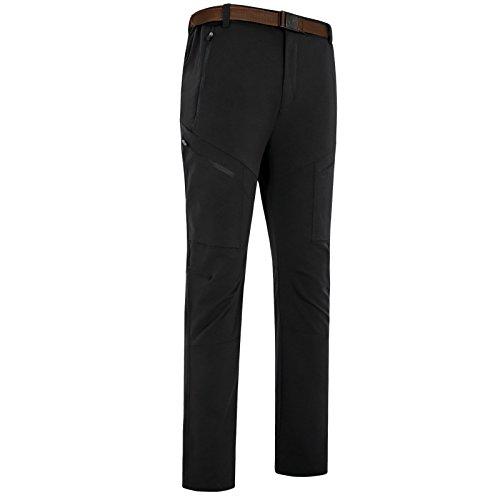 Fym M Sci Giacche Fibbia Salita Permeabilità Cintura Dyf Grandi Pantaloni Di Colore Solido Nero Dimensioni dH6wqHB