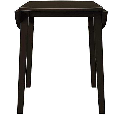Ashley Furniture Signature Design - Hammis Dining Room Table - Drop Leaf Table - Dark Brown by Signature Design by Ashley (Image #5)