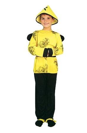 Alco Disfraz Infantil 7-9 años CHINO: Amazon.es: Juguetes y juegos