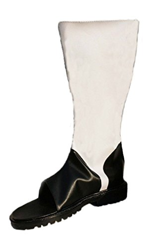 Bromeo NARUTO Anime Uchiha Itach Cosplay Schuhe Stiefel Stiefeletten