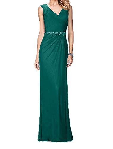 Elegant Abschlussballkleider Charmant Abendkleider Lang Jaeger Ballkleider Gruen Damen Festlichkleider Chiffon wx0TSwr