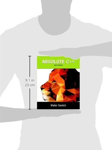 absolute c++ 6th edition free pdf