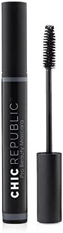 Natural Organic Mascara - Non Toxic, Safe for Eyes, Hypoallergenic - Long Lasting, No Flaking or Smudging - MADE IN USA - Black