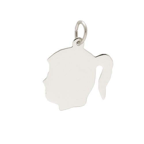 rembrandt-charms-medium-girl-silhouette-925-sterling-silver-engravable