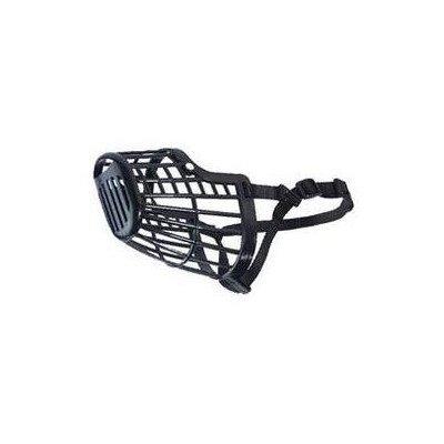 Basket Dog Muzzle [Set of 2] Size: XX-small - 8'' L, Color: Black