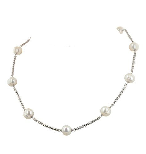 Honora Metro White Freshwater Cultured Pearl Tincup 18