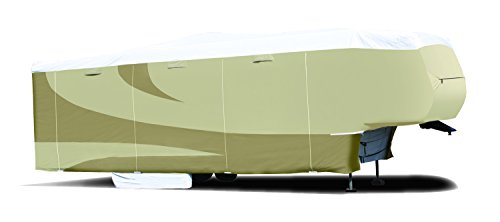 ADCO 32855 Designer Series Tan/White Tyvek 5th Wheel RV Cover